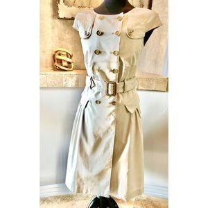 EUC Burberry Trench Dress Size 6